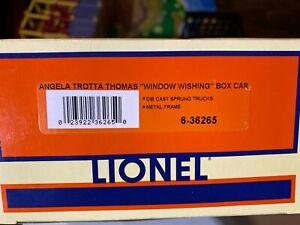 Lionel-6-36265-Angela-Trotta-Thomas-034-Window-Wishing-034-Box-Car