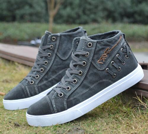de cómodos de y deporte Zapatillas con altas y casuales pli deporte hombre Zapatillas planas para planas coreanas d1OYpqqS