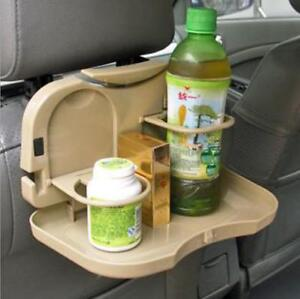 Car-Dining-Table-Water-Cup-Holder-Travel-Dining-Tray-Folding-Meal-Shelf-Tray-WO