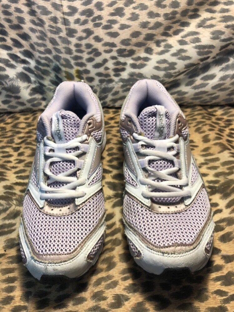 REEBOK MONOFUSHION MESH RUNNING SHOES WOMEN SIZE 8 515 US GRAY/ PINK 1AP506 515 8 2621ed