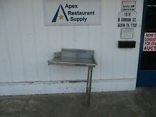 Commercial Stainless Right Side Clean 36 Dish Washer Table 3 6025
