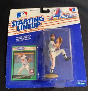 1989 Starting Lineup Bruce Sutter Atlanta Braves-NEW IN PACKAGE