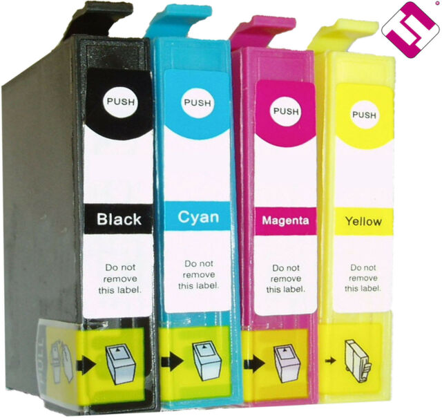 Pack 4 Inks T18 XL for New Expression Home XP 312 Compatible Nonoem T1816