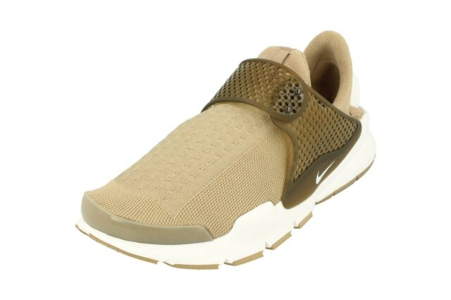 e0f828b77bf2 Nike Sock Dart KJCRD Jacquard Khaki White Men Running Shoes SNEAKERS ...