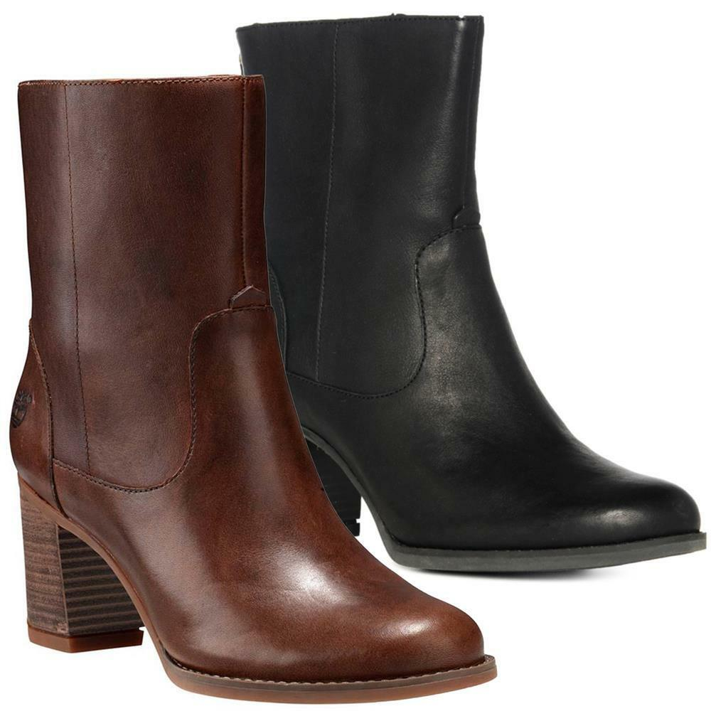 Timberland Atlantic Heights Mid Damen Boots Schuhe Stiefel
