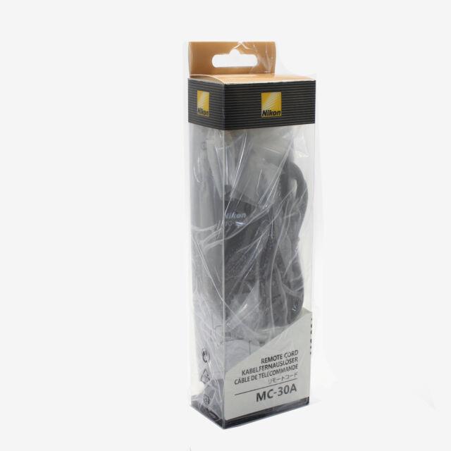 Genuine Nikon MC-30A Remote Shutter Release Cord for D4 D3 D800 D700 D300S D200