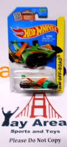 HOT WHEELS CAR SECRET TREASURE HUNT ☆ JET THREAT 4.0 ☆ SKY SHOW ☆ 2015 Green HTF