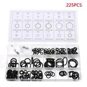225pz-O-Ring-Guarnizioni-Auto-Aria-condizionata-Compressore-Gommini-Assortimento