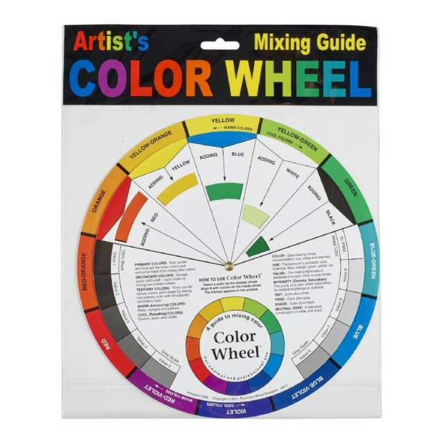 NEW Color Wheel Company Artist's Colour Wheel By Spotlight