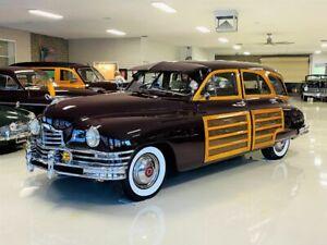 1948 Packard Eight Station Sedan Woody