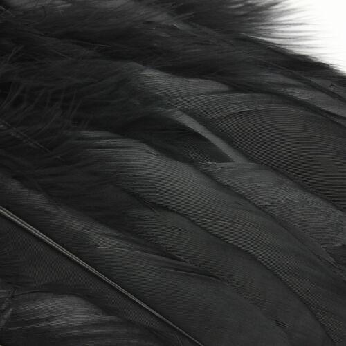 50//100x Feder Vogelfedern Gans Schwungfedern 15-20cm Basteln Deko Federn Schmuck