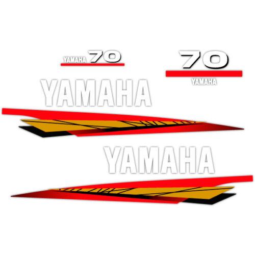 1998-2001 decal aufkleber addesivo sticker set Yamaha 70 outboard