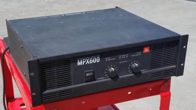 JBL MPX600 Power Amplifier Cable E Series 600 Watt