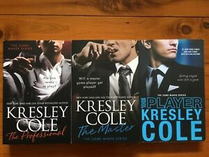 3-KRESLEY-COLE-The-Professional-MASTER-Player-The-Game-Maker-Series-Complete