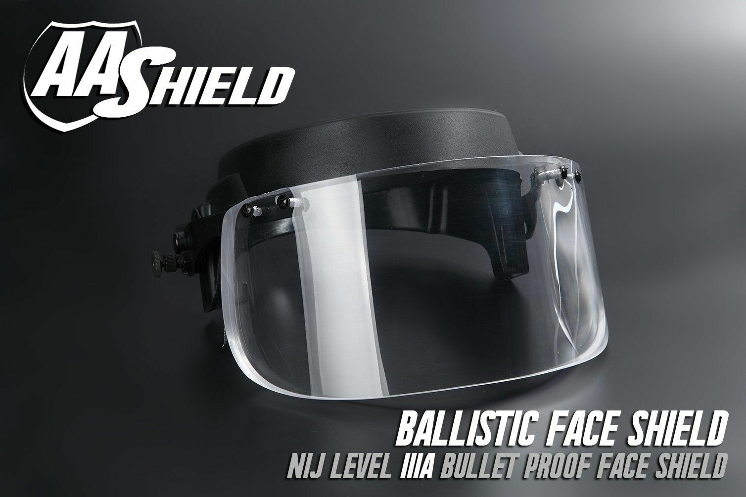 AA SHIELD Bullet  proof Ballistic Visor Face Shield Mask For Helmet Lvl IIIA 3A  incentive promotionals