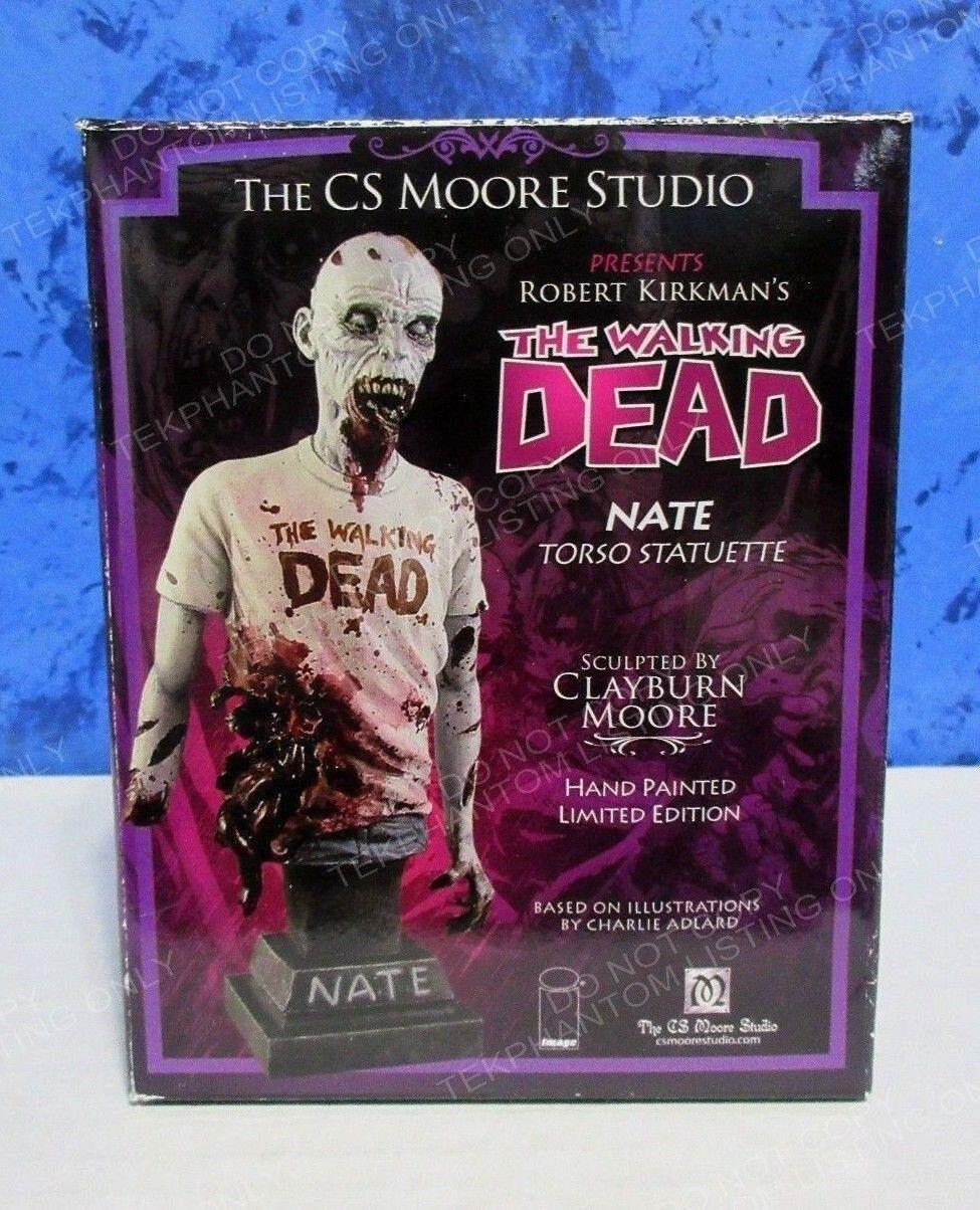 Walking Dead Nate CS Moore Studio Mini Figure Figure Figure Torso Statue Image Limited Adlard bc0fa3