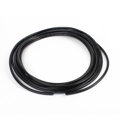 nero 5 metri 6mm OD 4mm ID 0.75mm muro spessore PU aria manichetta tubo