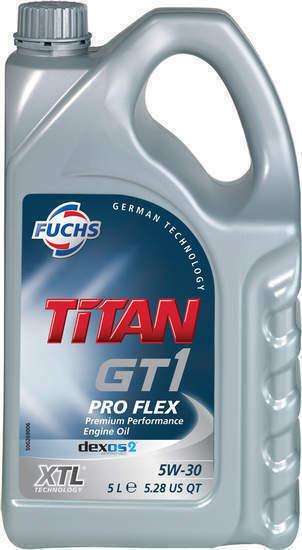 fuchs titan xtl gt1 pro flex 5w 30 engine oil 5l for sale online ebay. Black Bedroom Furniture Sets. Home Design Ideas