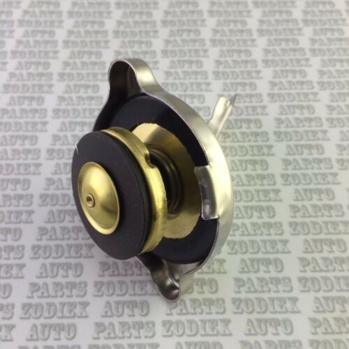 SAFETY Polished Stainless Steel Radiator Rad Cap 7 PSI