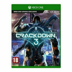 Crackdown 3 Microsoft Xbox One Video Game 18+ Years. Fast & Free UK Postage New