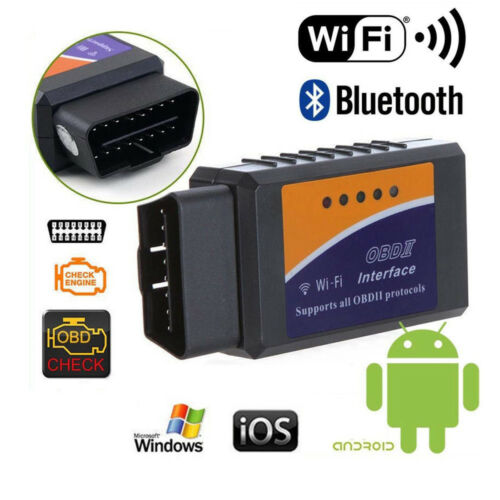 OBD2 OBDII Wireless WiFi Car Auto Diagnostic Interface Scanner Code Reader Tool