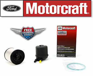 motorcraft fd4615 fuel filter 2011 2013 ford 6 7l v8 2010 6 7 fuel filter