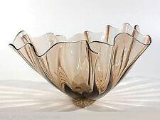MURANO Taschentuchvase ° xxl Fazzoletto ° Design wohl Fulvio Bianconi ° (9)