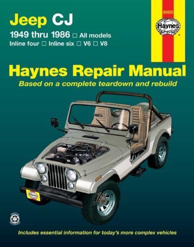 Repair Manual-Base Haynes 50020