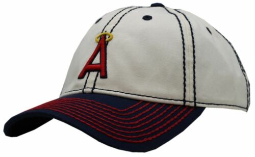 Los Angeles Angels Two Tone Buckle Back Cap-8069