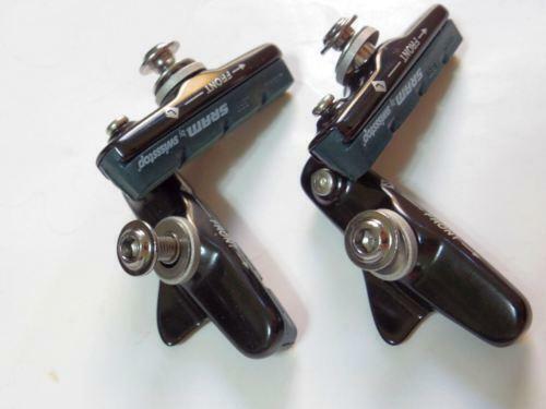 "SRAM Swissstop Road Bike  Brake Pad W// Shoe /""Green/"" For Alloy Rims Use 2 Pairs"