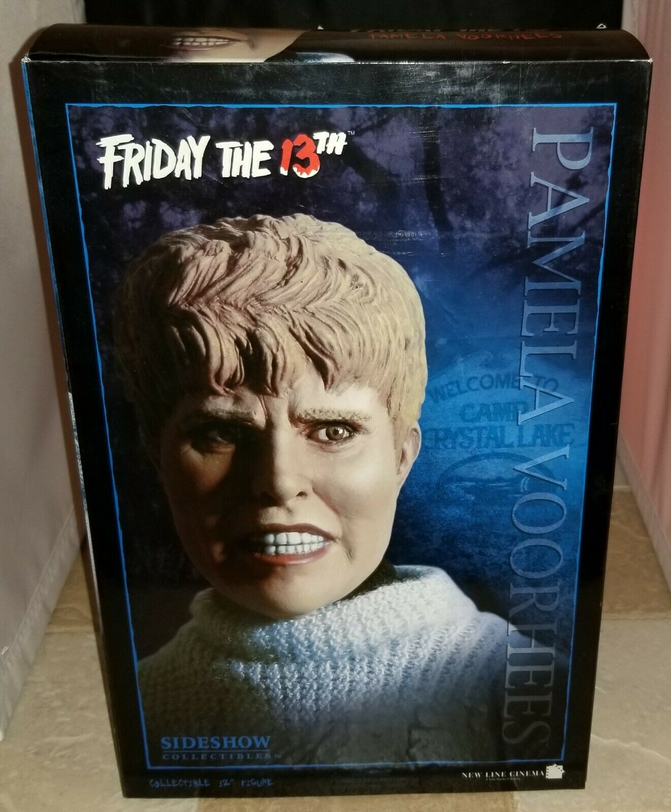 """SIDESHOW PAMELA VOORHEES FRIDAY THE 13th 12"""" 1:6 EXCLUSIVE FIGURE W/ HEAD NEW  on eBay thumbnail"""