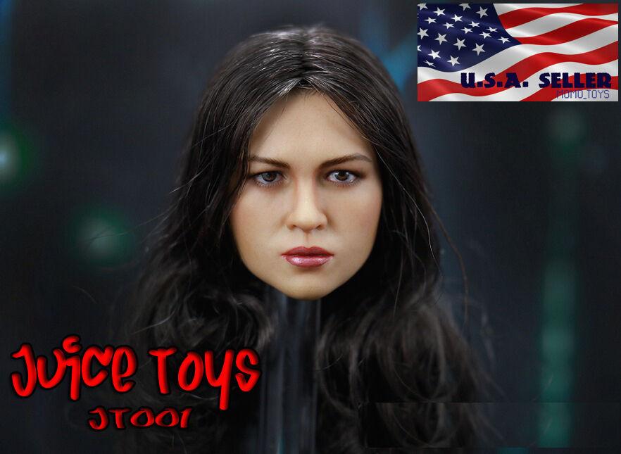 1 6 Michelle Rodriguez 2.0 Head Head Head Sculpt Fast & Furious For Hot Toys Phicen Figure ec4bed