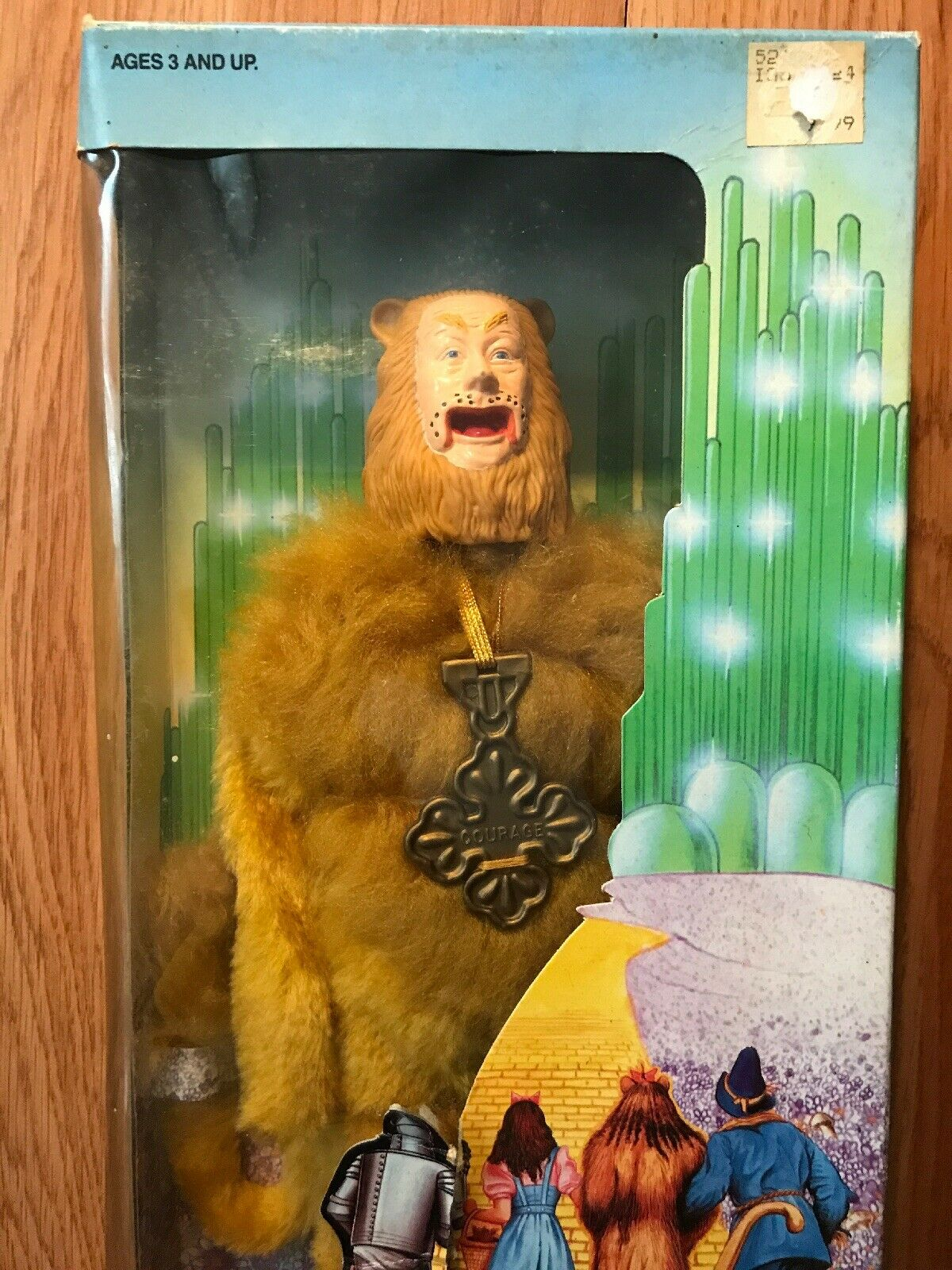 "Wizard Of Oz 1988 Loews Multi Toys 50th Anniversay Cowardly Cowardly Cowardly Lion 12"" Doll db5ba3"