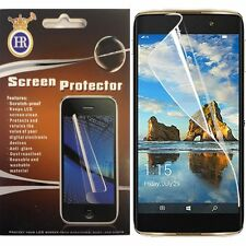 Alcatel Idol 4S Clear LCD Screen Protector Guard with Cleaning Cloth Accessory