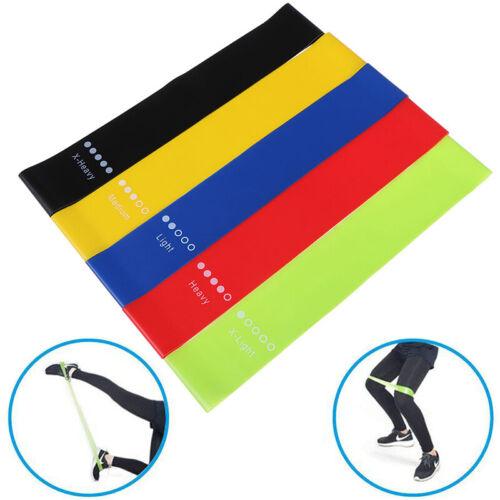 Widerstandsbänder Gummiband Workout Fitnessgeräte Yoga TrainingsbänderH yuXI