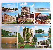 2x UNGARN Europa Sonderformat Postkarten Siofok Postcards unused ungelaufen
