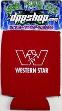 Western Star neopreen soda can cooler coozie huggie koozie trucker diesel gear