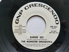 """THE MONSTER ORCHESTRA - Hangin Out / A Drop in the... 1981 DISCO FUNK 7"""" Promo"""