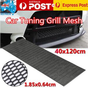 40cm-x-120cm-Universal-Honeycomb-Plastic-Vent-Black-ABS-Car-Tuning-Grill-Mesh-AU
