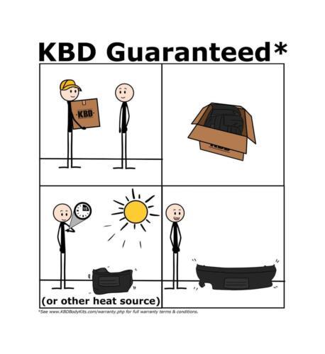 KBD Body Kits Premier Style Polyurethane Roof Wing Spoiler Fits Chevy C//K 07-13
