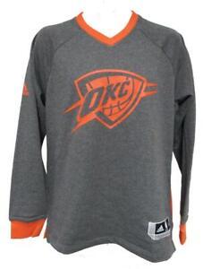 New Oklahoma City Thunder Mens Sizes S-M-L-XL Adidas On Court Sweatshirt