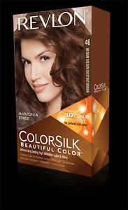Revlon Colorsilk Hair Color 46 Medium Golden Chestnut Brown 1 Each