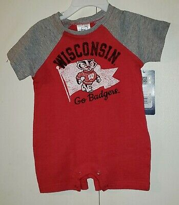 Gen2 Wisconsin Badgers Kids All Over Printed Shorts