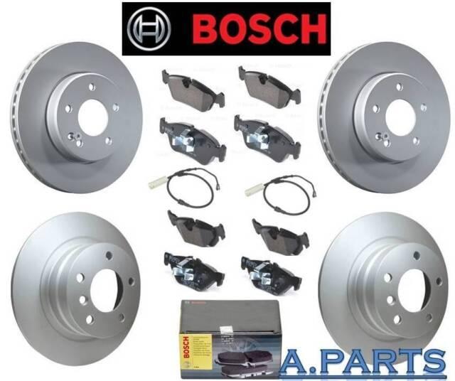 Bosch Pastillas de Disco Freno Sem Frontal - y Eje Trasero BMW 1ER E87 / 3ER E90