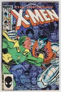 L6208-Uncanny-X-Men-191-Vol-1-MB-NM-Estado