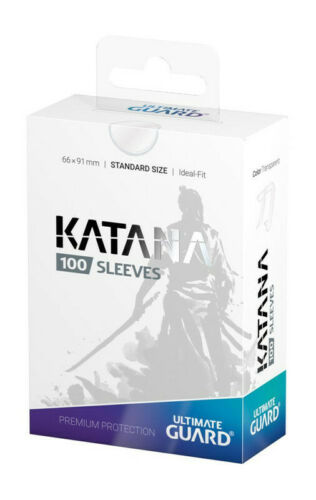 Ultimate Guard 100 pochettes Katana Sleeves taille standard Transparent 073766