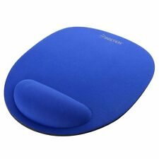 Blue Wrist Rest Soft Comfort Mousepad Mat Mice Pad Fast Free Shipping From USA