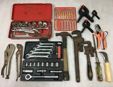 Vintage Tools Wholesale Lot Wrenches Ratchets Bits Pliers Knife Screwdrivers