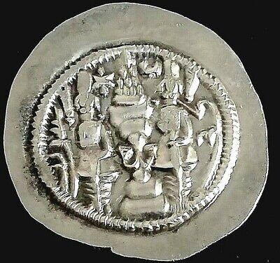 Nr.124 Volume Large Coins & Paper Money Original Drachm-drachme-sasanian-sasaniden-sassaniden-persien-persian-persia