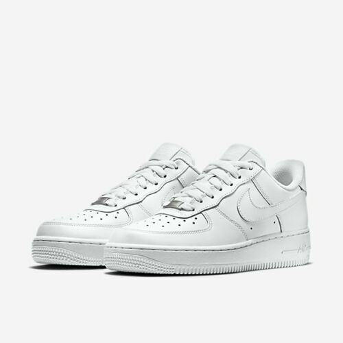 Womens Nike Air Force 1 07 315115 112 WhiteWhite NEW Size 11.5
